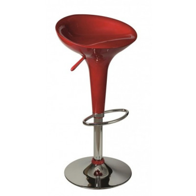 Tabouret de bar SPHERE rouge