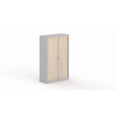 Armoire métallique 2 portes à rideau STEEL 135