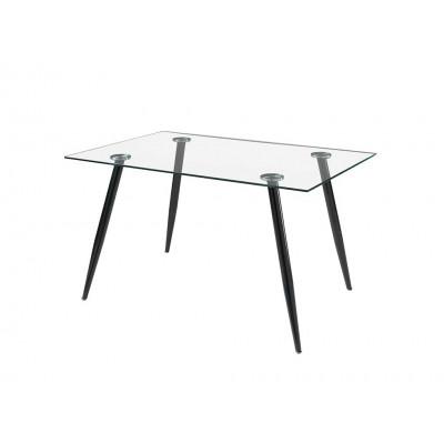 Table  BELLA verre transparent