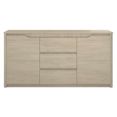 Enfilade 2 portes/3 tiroirs TIME chêne