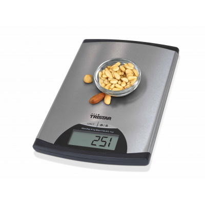 Balance de cuisine TRISTAR 5 KG gris
