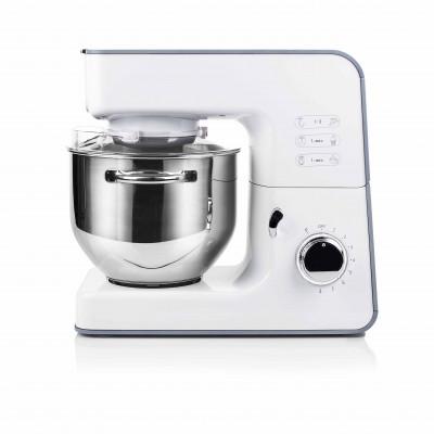 Robot culinaire multifonction TRISTAR blanc - bol en inox