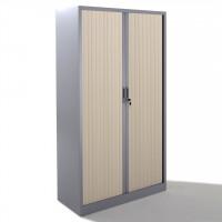 Armoire métallique 2 portes à rideau BDX H1912 Argent ...